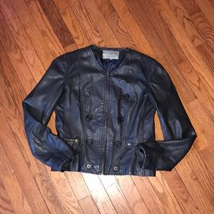 Bod & Christensen Nice Leather Jacket Size Small S